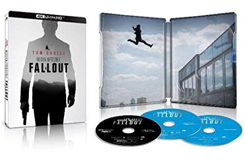 Mission: Impossible - Fallout Limited Edition 4K SteelBook (4K Ultra HD Blu-ray)