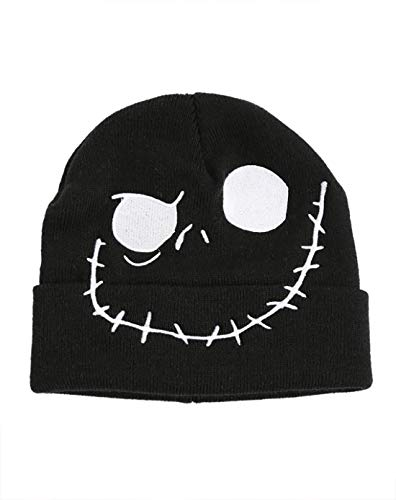 The Nightmare Before Christmas: Jack Skellington Beanie; Winter Hat Found at Hot Topic.
