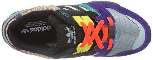 adidas ZX 8000 - Zapatillas para hombre Morado / Gris / Verde / Negro