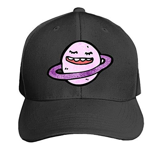 Peaked hat Crtoon Plnet Symbol Adjustable Sandwich Baseball Cap Cotton Snapback]()