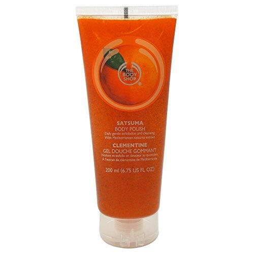 The Body Shop Satsuma Body Polish, Paraben-Free Body Scrub, 6.75 Oz.
