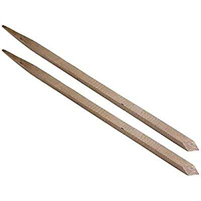 High Speed Steel Square Graver #4 Jewelers Watchmakers Engraver Tools 2Pcs