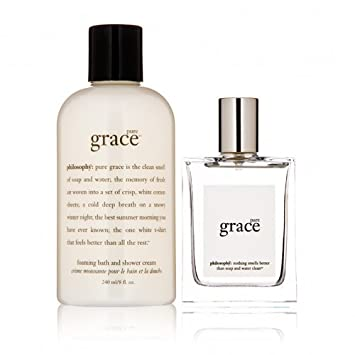 Amazon.com : Philosophy Pure Grace Soap and Water Gift Set (Spray ...