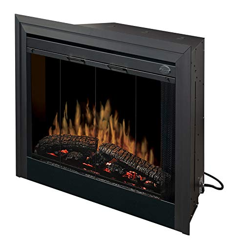 Cheap Dimplex BF39STP 39-Inch Deluxe Built-In Electric Firebox without Resin Logs and Brick Backing Black Friday & Cyber Monday 2019