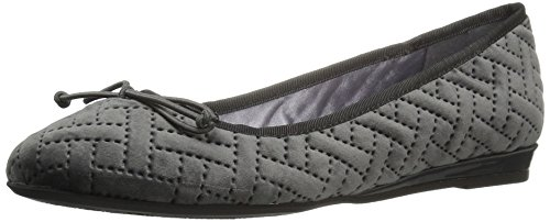 Flat Women's Chinese Ballet Grey Laundry Cl Aris Di Velvet qftYxO6