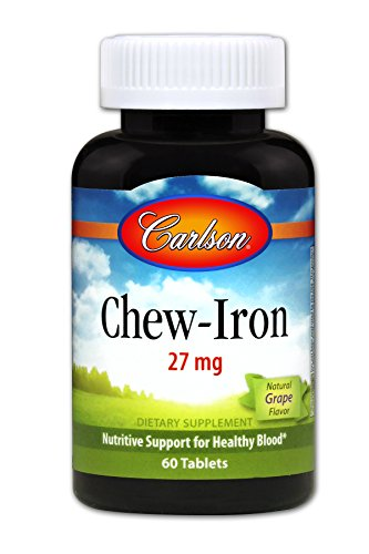 Carlson Chew Iron Flavored Chewable Absorption