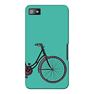 DailyObjects PaddleUp Vintage Cycle Case For BlackBerry Z10