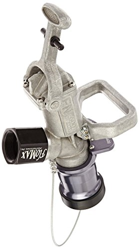 Dixon FN600 Aluminum Dry Disconnect Flomax Diesel Fuel Nozzle with Dog Latch and Sealing Plug, 1-1/2'' NPT Female by Dixon Valve & Coupling