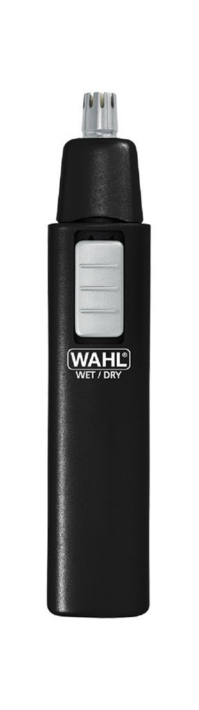 Wahl 5567-500 Ear, Nose and Brow Wet/Dry Battery Trimmer, Black Fesco Distributors