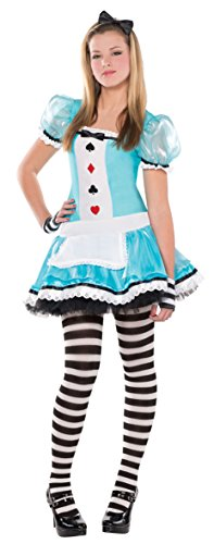 Clever Alice Costume - Teen Large - Alice In Wonderland Cheap Costumes