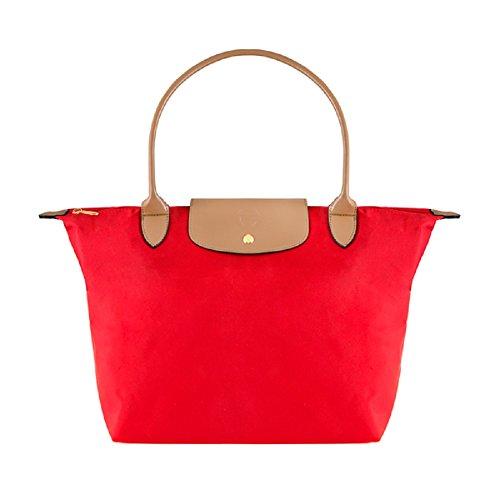 Elizabeth Tote Grant Elizabeth Nylon Medium in Bag Grant Red wraXEqr