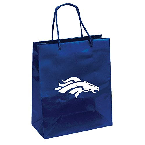 (Pro Specialties Group NFL Denver Broncos Gift Bag, Navy/White, One Size)