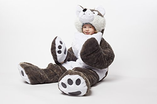 - Snoozzoo The All New Wolf Children's Stuffed Animal Sleeping for Children UP to 54 INCHES Tall!!