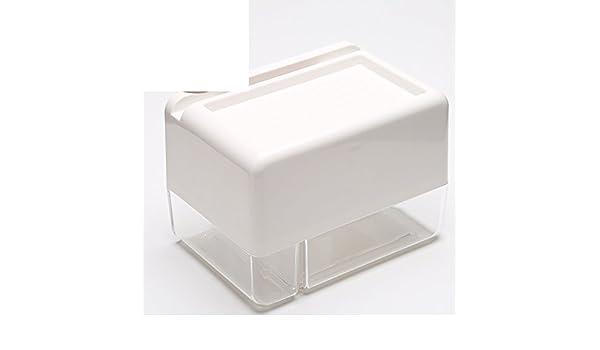 Sostenedor de papel higiénico Rodillo de rack Aviones de papel Soporte de los tejidos Autoadhesivo Tipo de montaje en pared del Soporte Plástico Telefono ...
