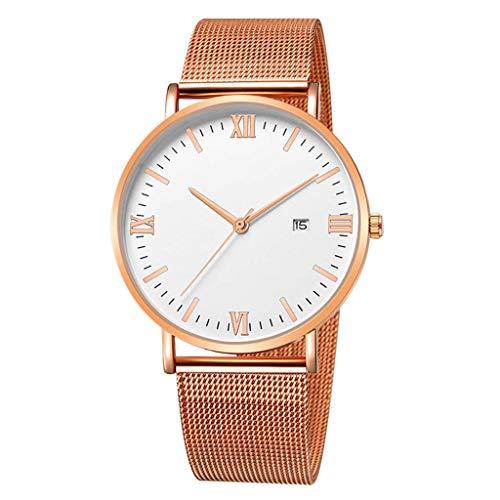 - Fenleo Luxury Women's Watches Stainless Steel Mesh Belt Wrist Watch