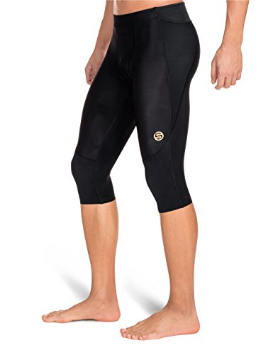 Skins Men's A400 Compression 3/4 Tights, Black, Small by Skins (Image #4)
