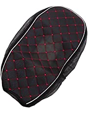Black Waterproof & Dustproof Seat Cushion Cover for Motorcycle Scooter - L
