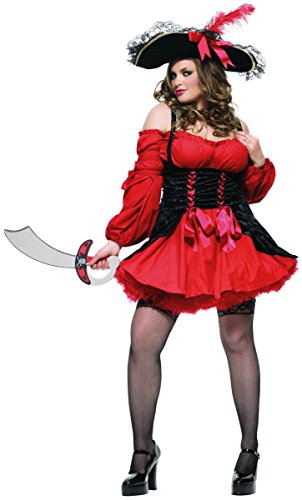 Vixen Pirate Wench Costume - Plus Size 1X/2X - Dress Size ()