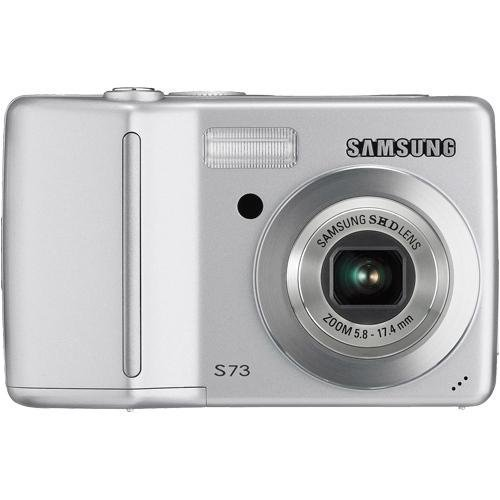 Samsung Digimax S730 7.2MP Digital Camera with 3x Optical Zoom (Silver)