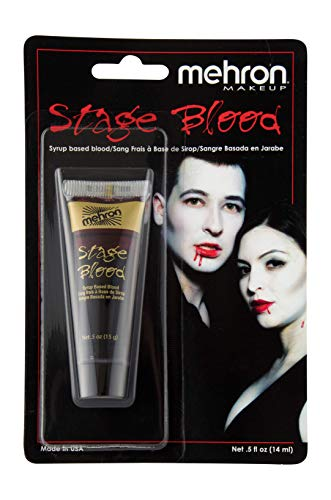 Mehron Makeup Stage Blood (.5 Ounce) (Bright Arterial)]()
