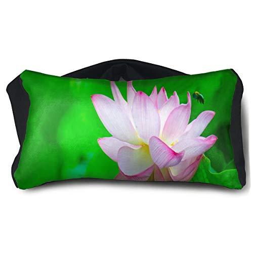 (Eye Pillow Beautiful Lotus And Cute Bee Great Eye Bag Mask Mens Portable Blindfold Train Sleep Protection)