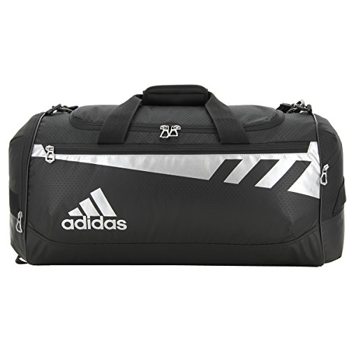Team Bag Duffel adidas Silver Issue Black dvn7xq47