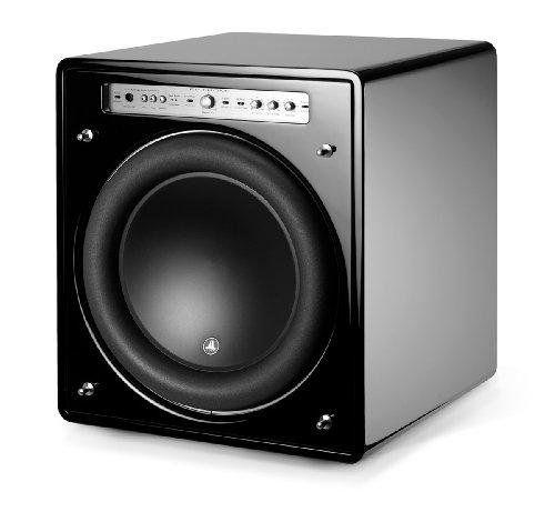 "F113 Gloss - JL Audio 13.5"" Fathom Series Powered Subwoofer, Black Gloss Finish"