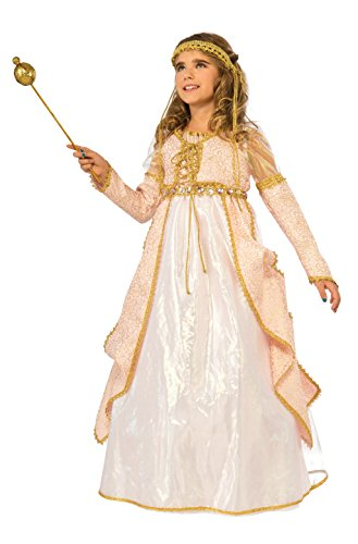 Rubie's Costume Kids Deluxe Shimmering Princess Costume, (Popular Costumes For Girls)