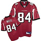 Roddy White Atlanta Falcons RED Equipment - Replica NFL YOUTH Jersey