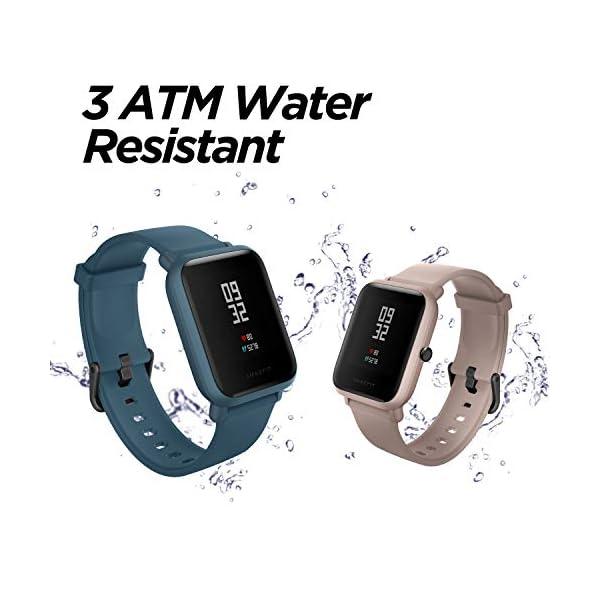 41XHoIAPQjL Amazfit Bip Lite Smart Watch (Black)