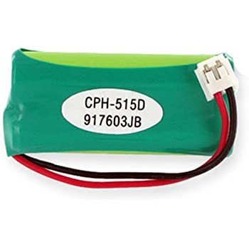 Amazon Com 750ma 2 4v Replacement Nimh Battery For