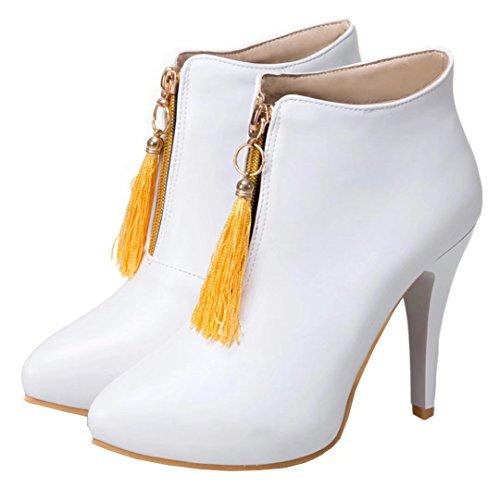 Boot AIYOUMEI Boot Weiß Damen AIYOUMEI Damen Classic Weiß AIYOUMEI Classic Damen BxRq4ZZ