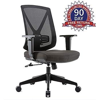 Amazon Com Clatina Ergonomic High Mesh Swivel Desk Chair