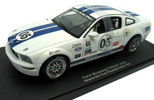 1/18 フォードマスタングFR500C GRANDAMカップ#05ホワイト 805109