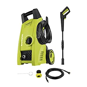 Sun Joe SPX1000 1450 PSI 1.45 GPM Electric Pressure Washer, 11.5-Amp
