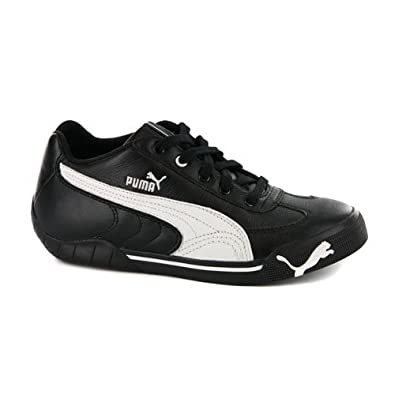 half off bc621 07fe8 Boys Puma Speed Cat 2.9 Black Leather Trainers UK 6   EUR 39  Amazon.co.uk   Shoes   Bags