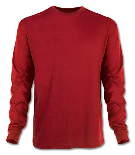 Arborwear Men's Long Sleeve Tech T-Shirt, Cardinal Red, X-Large ()