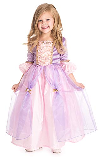 Little Adventures Deluxe Rapunzel Princess Dress Up Costume (Large Age 5-7) -
