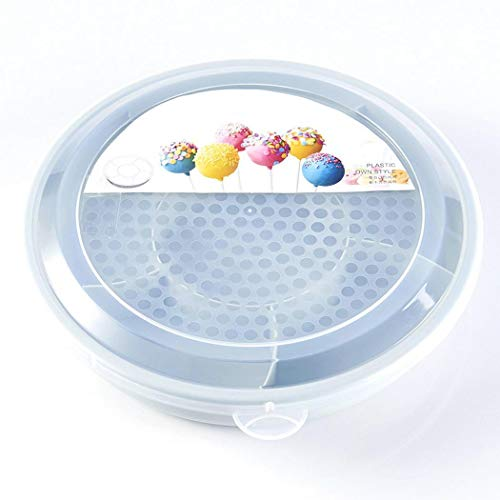 Kaluo Creative Plastic Round Dried Fruit Plate Candy Snack Storage Box Cake Stands from Kaluo