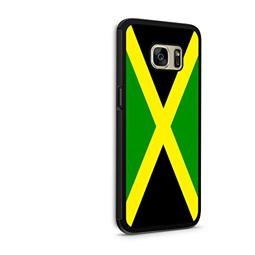 Price comparison product image Jamaica Flag Galaxy s7 Edge Hybrid Rubber Protective Case