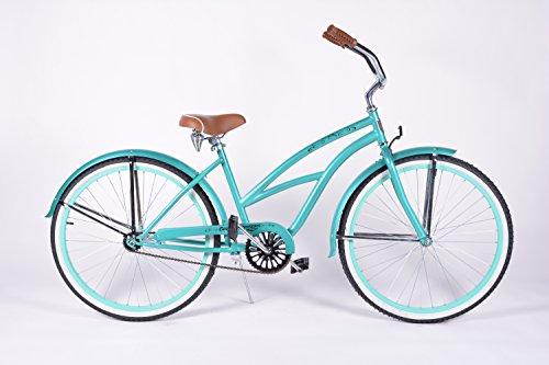 Cheap Colby Cruisers Tiara 26″ Beach Cruiser Bicycle (Seafoam Teal)