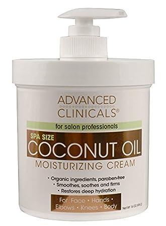 Crema De Coco Para El Cuerpo Organico Natural - Restaura La Hidratación Profunda De