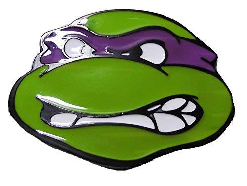 - Teenage Mutant Ninja Turtles DONATELLO Purple Mask Metal/Enamel BELT BUCKLE