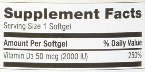 Nature's Wonder Vitamin D3 50mcg Tablets