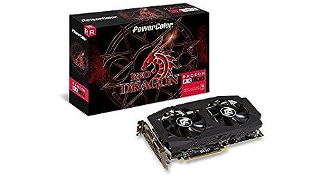 PowerColor Red Dragon Radeon RX 580 Radeon RX 580 8GB GDDR5 - Tarjeta gráfica (Radeon RX 580, 8 GB, GDDR5, 256 bit, 4096 x 2160 Pixeles, PCI Express ...