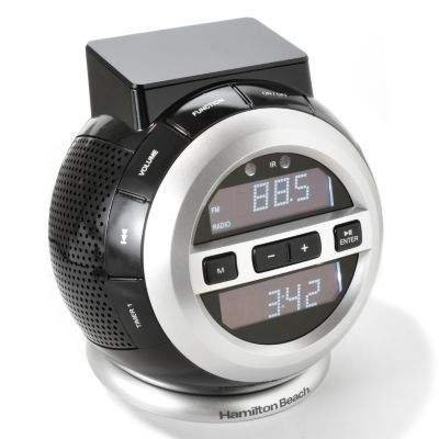 HAMILTON BEACH DOCK & PLAY STATION (HR884SA) FOR YOUR IPOD / IPHONE / ITOUCH w/ REMOTE CONTROL