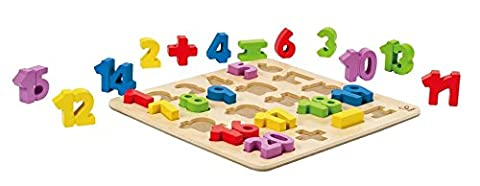 Hape Numbers Stand up Kid's Wooden Learning (Triangolo Attività)