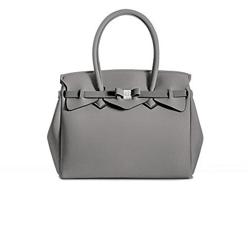 BORSA SAVE MY BAG - Vapore (Grigio Nuvola/Cloudy Grey)