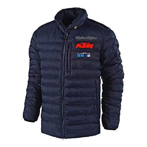 Team Jacket - Troy Lee Designs Official Team KTM Licensed Dawn Jacket (Medium, Navy)