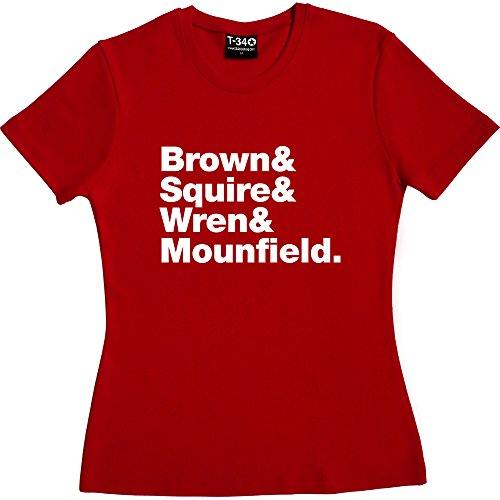 T34 - Camiseta - Mujer Red Women's T-Shirt